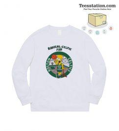 Bootleg Bart Radical Celtics Fan Sweatshirt
