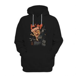 Pizza Kong Fitted Scoop Hoodie