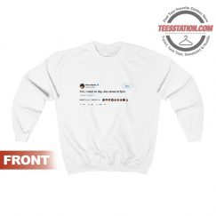 Get It Now Harry Styles Tweet Sweatshirt