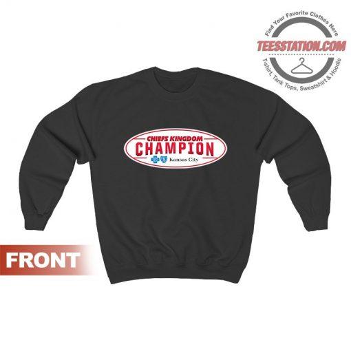 Get It Now Kansas City Chiefs AFC Champions Sweatshirts