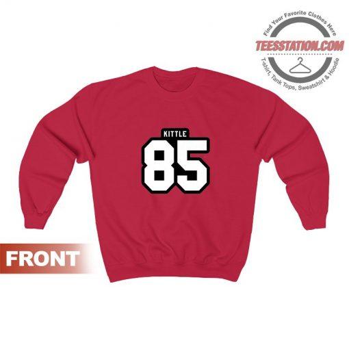 George Kittle 85 San Francisco Football Player Sweatshirt