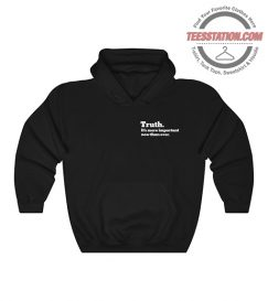 The New York Times Truth. It's more important now than ever Hoodie