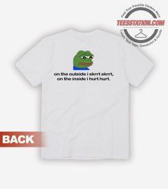 Sad Pepe The Frog Meme T-Shirt