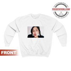 For Sale Sasha Grey Love Sweatshirts unisex