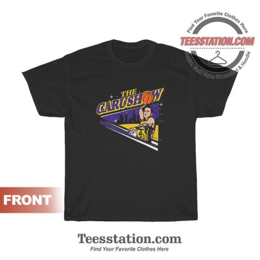 Alex Caruso The Carushow T-Shirt For Unisex