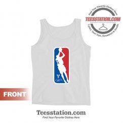 NBA Logo Kobe Bryant Tank Tops For Unisex