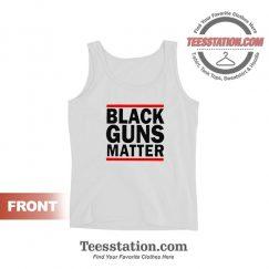Black Guns Matter Tank Tops For Unisex