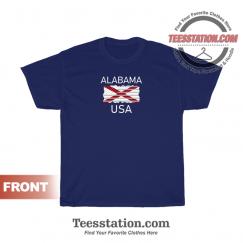 Alabama USA State Flag T-Shirt