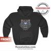 Kenzo Black Gradient Tiger Logo Hoodie