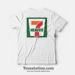 Seventh Heaven 7 Eleven Logo Parody T-Shirt Front And Back