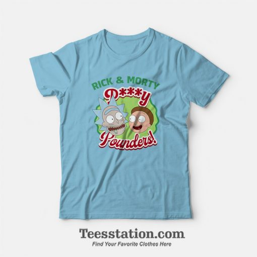 Rick and Morty Pussy Pounders Meme T-Shirt