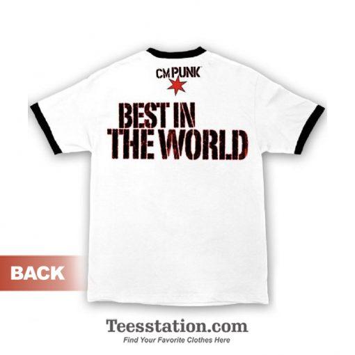 WWE CM Punk Best In The World T-Shirt