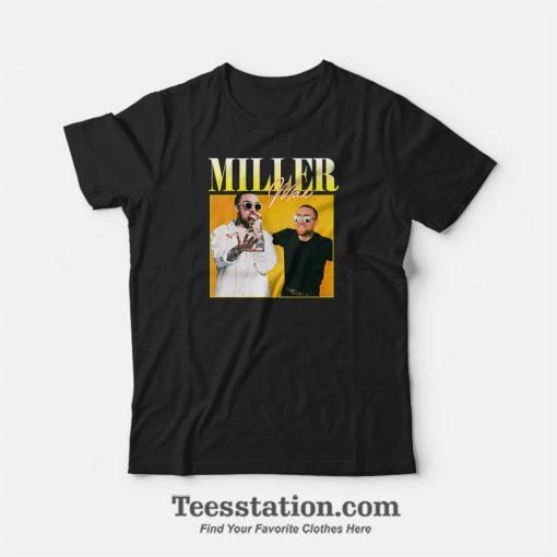 Mac Miller 90s Vintage Black T-Shirt